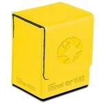 Flip Box Ultra Pro - Force Of Will - Light Magic Stone (jaune) - Acc