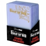 "3"" X 4"" Stamped Toploader - Force Of Will (par 25) - Acc"