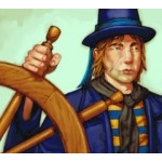 133 - Helmsman (America) [Pirates at Ocean's Edges]