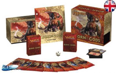 Born of the Gods / Créations Divines - Fat Pack - (EN ANGLAIS)