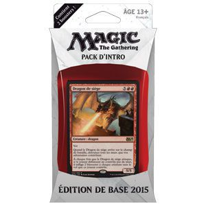 Magic 2015 - Intro Pack Rouge/Bleu : Butin du dragon (en français)