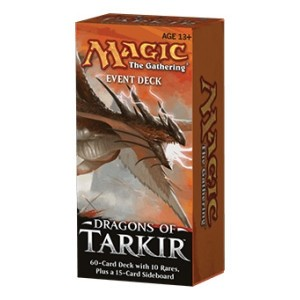 Dragons Of Tarkir / Dragon De Tarkir - Event Deck - Bleu/rouge/vert - (en Anglais)