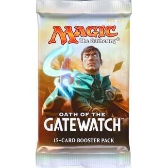 Oath Of The Gatewatch / Le Serment Des Sentinelles - Booster de 15 cartes Magic - (EN ANGLAIS)