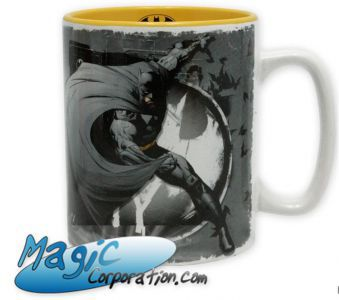DC COMICS - Mug/Tasse - 460 ml - Batman & logo