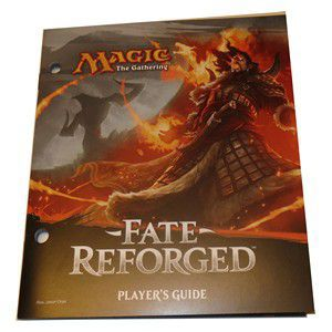 Magic L'Assemblée - Fate Reforged - Player's guide - (EN ANGLAIS)
