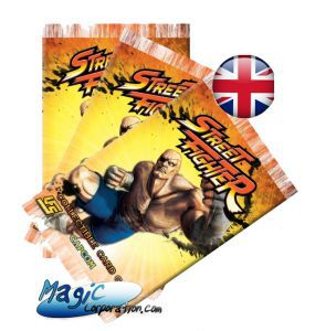 Street Fighter - Booster 10 cartes - (EN ANGLAIS)