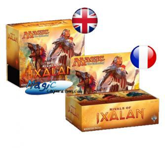 RIVALS OF IXALAN - Small Pack : 1 Bundle VO + 1 Boite De Boosters VF - (en Français)