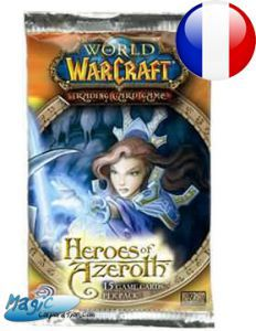 World of Warcraft CCG -Booster Heroes of Azeroth (en Français)