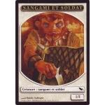 Tokens Magic Accessoires Pour Cartes Token/Jeton - Sombrelande - Sangami Et Soldat