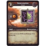 WoW Minis - Cartes à l'unité [Core Set] WoW Miniatures Game 04 - Rejuvenation [Cartes WOW miniatures]