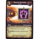 WoW Minis - Cartes à l'unité [Spoils of War] WoW Miniatures Game 39 - Mark of the Wild[Cartes WOW minis: Spoils of War]