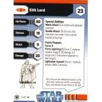 Star Wars Miniatures - Jedi Academy Star Wars Miniatures 11 - Sith Lord [Star Wars Miniatures - Jedi Academy]