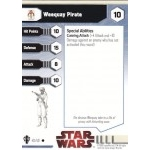 Star Wars Miniatures - Galaxy at War Star Wars Miniatures 40 - Weequay Pirate [Star Wars Miniatures - Galaxy at War]