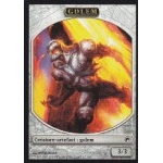 Tokens Magic Accessoires Pour Cartes Token/Jeton - Cicatrices De Mirrodin - Golem
