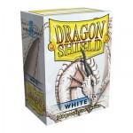 Protèges Cartes Accessoires Pour Cartes 100 pochettes Dragon Shield - White (blanc) - ACC