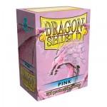 Protèges Cartes Accessoires Pour Cartes 100 pochettes Dragon Shield - Pink (rose) - ACC