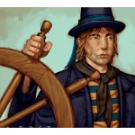 Pirates of the Crimson Coast Pirates 107 - Helmsman (Treasure) - Pirates of the Crimson Coast
