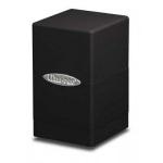 Boites de Rangements Accessoires Pour Cartes Deck Box Ultra Pro - [Satin Tower] - Noir - ACC