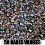 Lot de Cartes Magic the Gathering Lot de 50 rares variées , (lot B)