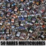 Lot de Cartes Magic the Gathering Lot de 50 rares multicolores (lot B)