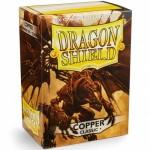 Protèges Cartes Accessoires Pour Cartes 100 pochettes Dragon Shield - Copper (cuivré) - ACC