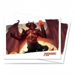 Protèges Cartes illustrées Accessoires Pour Cartes 80 Pochettes Ultra Pro - Bataille de Zendikar - Ob Nixilis - ACC