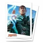 Protèges Cartes illustrées Accessoires Pour Cartes 80 Pochettes Ultra Pro  - Le Serment des Sentinelles - Jace - ACC