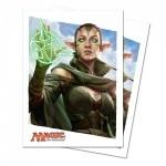 Protèges Cartes illustrées Accessoires Pour Cartes 80 Pochettes Ultra Pro - Le Serment des Sentinelles - Nissa - ACC