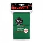 Protèges Cartes Accessoires Pour Cartes 100 pochettes Ultra Pro Matte - Vert - ACC