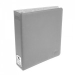 Classeurs et Portfolios Accessoires Pour Cartes Gros Classeur Ultimate Guard Collector Supreme - 3 Anneaux Xenoskin - Gris - Acc