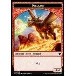 Tokens Magic Accessoires Pour Cartes Token/Jeton - Dragons De Tarkir - Dragon