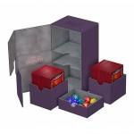 Boites de Rangements Accessoires Pour Cartes Deck Box Ultimate Guard - Double 200+ - Violet - T4 - Acc
