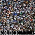 Lot de Cartes Magic the Gathering Lot de 200 Unco Communes vrac toutes éditions