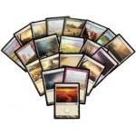 Lot de Cartes Magic the Gathering Lot de 20 terrains de base - Plaine - foil