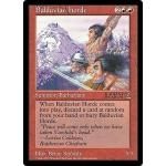 Grandes Cartes Oversized Magic the Gathering Balduvian Horde (Oversized 6x9 Promos Arena League)