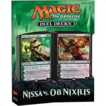 Decks d'Evénement & Commander & Duel Decks Magic the Gathering Duel Decks : Nissa Vs Ob Nixilis - Vert/noir