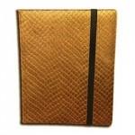 Classeurs et Portfolios Accessoires Pour Cartes Portfolio Legion - A4 Dragonhide Binder 9 Cases - Or - Acc