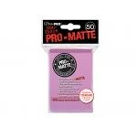 Protèges Cartes Accessoires Pour Cartes 50 pochettes Ultra Pro Matte - Rose - ACC