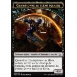 Token Championne fléau solaire X4 MTG Magic L/'Âge de la Destruction Jeton VF