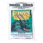 Protèges Cartes Accessoires Pour Cartes 50 pochettes Dragon Shield - Taille Small - Vert - ACC