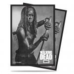 Protèges Cartes illustrées Accessoires Pour Cartes 50 Pochettes Ultra Pro - The Walking Dead - Michonne - ACC