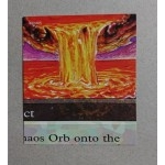 Livres Magic the Gathering Occasion - Puzzle Card - Chaos Orb N°5/9