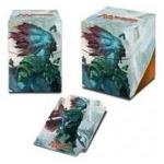 Boites de rangement illustrées Accessoires Pour Cartes Deck Box Ultra Pro 100+ - Rivals Of Ixalan V3 - Kumena, Tyran D'orazca - Acc