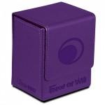 Boites de rangement illustrées Accessoires Pour Cartes Flip Box Ultra Pro - Force Of Will - Darkness Magic Stone (violet) - Acc