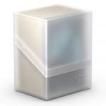 Boites de Rangements Accessoires Pour Cartes Deck Box Ultimate Guard - Boulder 80+ - Blanc/Frosted - Acc