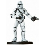 Star Wars Miniatures - Rev. of the Sith Star Wars Miniatures 11 - Clone Trooper Gunner [Star Wars Miniatures - Revenge of the Sith]