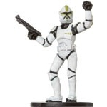 Star Wars Miniatures - Clone Strike Star Wars Miniatures 10 - Clone Trooper Sergeant [Star Wars Miniatures - Clone Strike]
