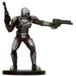 Star Wars Miniatures - Bounty Hunters Star Wars Miniatures 57 - Mandalorian Commander [Star Wars Miniatures - Bounty Hunters]