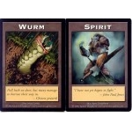 Tokens Magic Accessoires Pour Cartes Double Token/Jeton - Wurm / Spirit