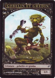 Tokens Magic Magic the Gathering Token/Jeton - Lorwyn - Gobelin et Gredin